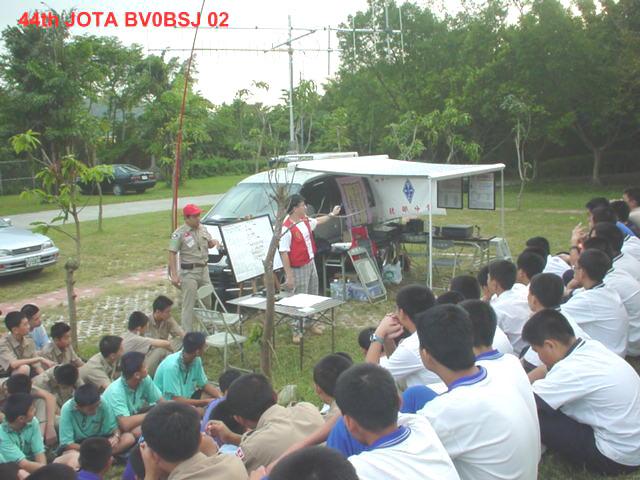 北部分會支援JOTA活動